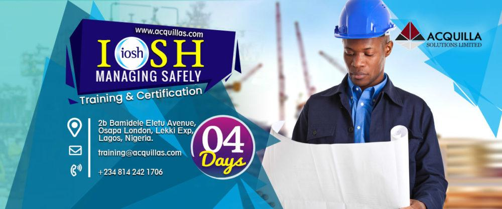 IOSH Managing Safely Training in collaboration with HASA in Lagos