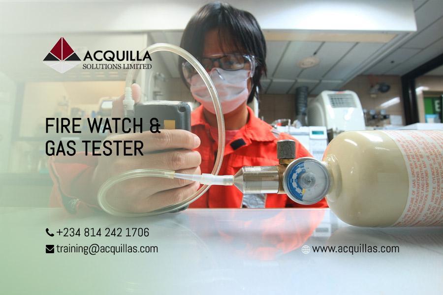 Fire Watch & Gas Tester - Lagos
