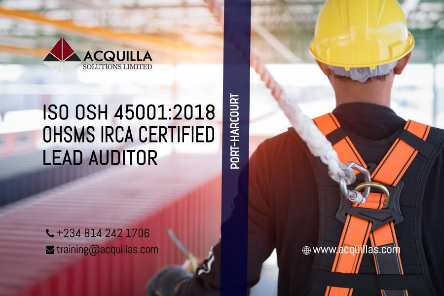 ISO 45001:2015 Lead Auditor Course (5 Days) - Port Harcourt Course ID 1896