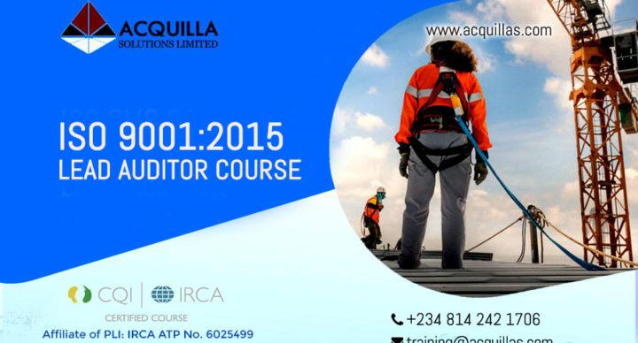 Iso Qms 9001 2015 Qms Irca Certified Lead Auditor