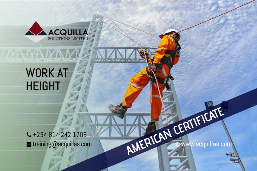 Work at Height Course in Lagos