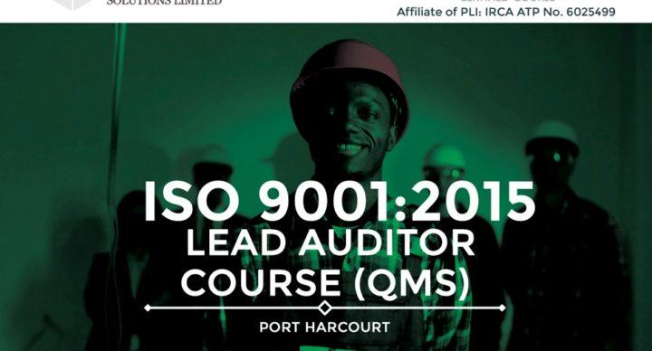 Acquilla Solutions Limited - ISO 9001:2015 Lead Auditor Course (Course ID 1718) | Port Harcourt | April