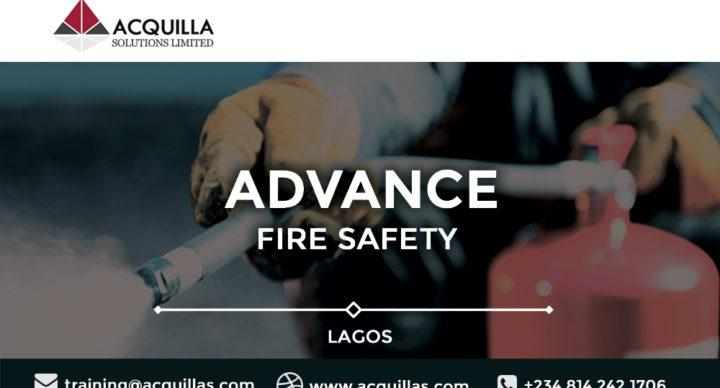 Acquilla Solutions Limited - Advance Fire Safety Training in Lagos