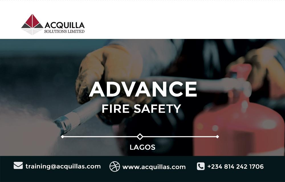 Advance Fire Safety Training in Lagos