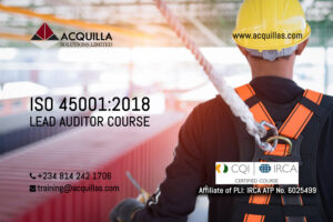 Iso Osh 45001 2018 Ohsms Irca Certified Lead Auditor