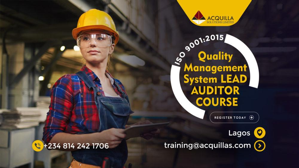 Quality Management System Lead Auditor Course Lagos