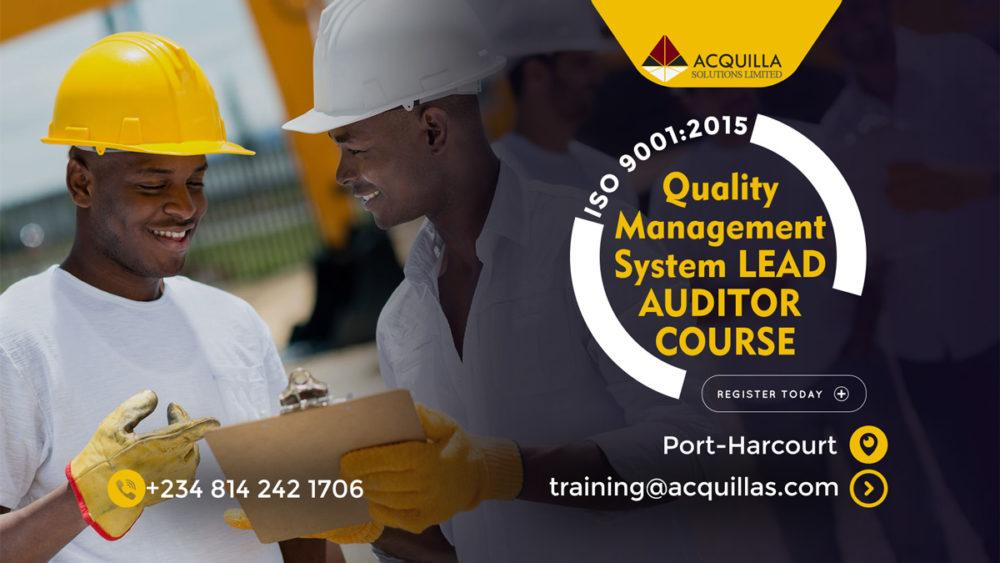 Quality Management System Lead Auditor Course Port