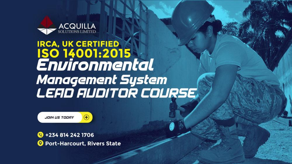 Iso 14001 2015 Environmental Management System Lead Auditor Course Port
