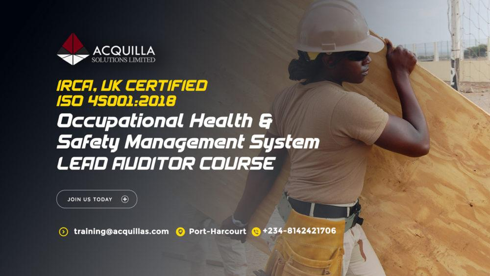 Iso 45001 2018 Occupational Health & Safety Management System Lead Auditor Course