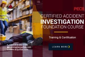 Certified Accident Investigation Foundation Course Lagos