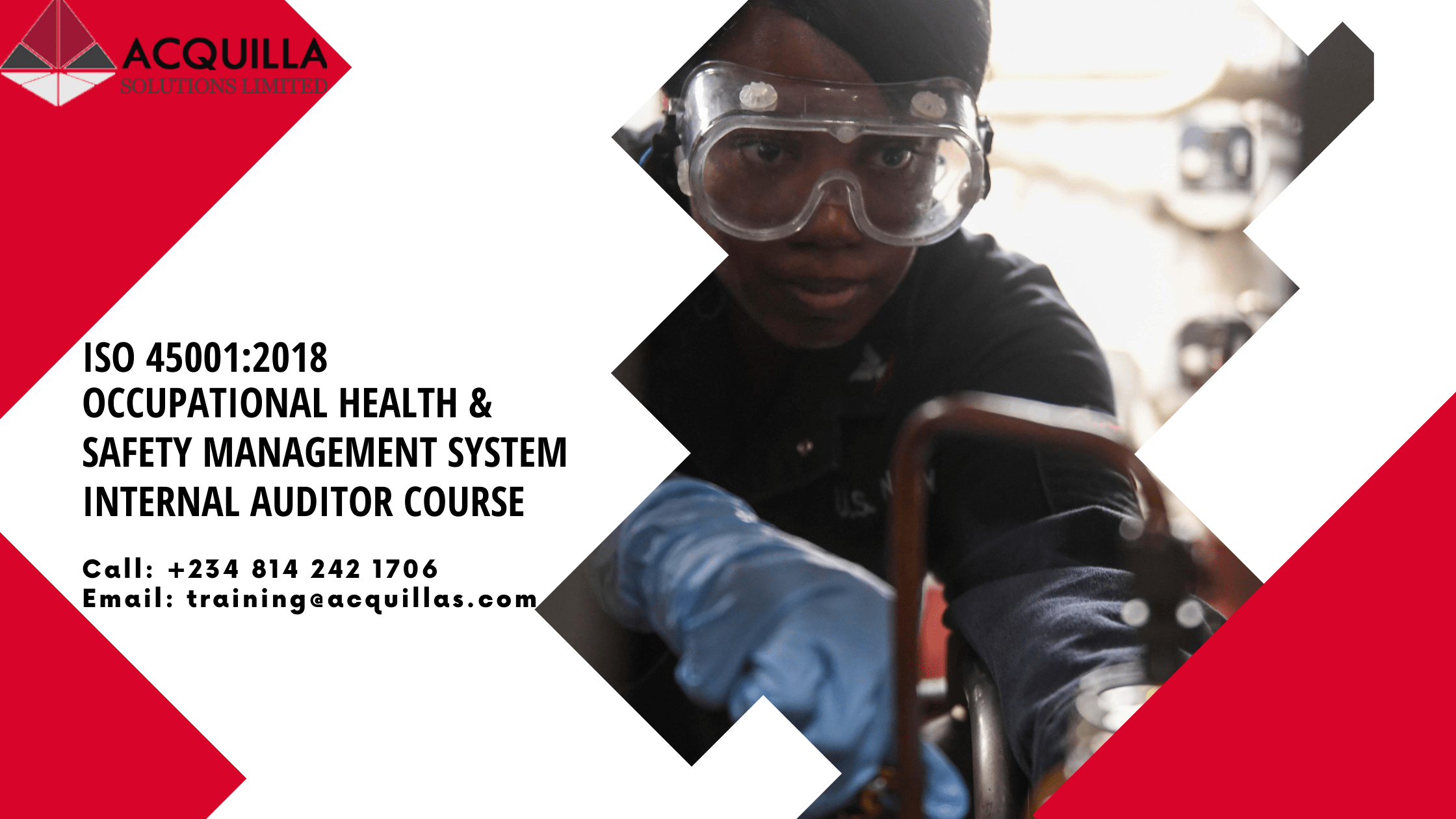 Health and Safety Courses in Lagos Iso Osh 45001 2018 Internal Auditor 2021
