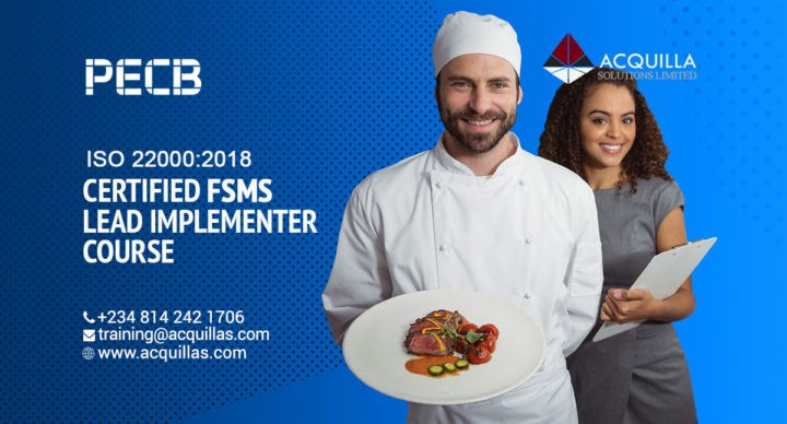 Iso 22000 2018 Food Safety Management System Certified Lead Implementer Professional Course