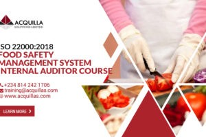 Internal Food Safety Auditor Iso22000 2018 Iso19011 2018