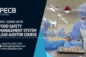 Pecb Iso 22000 2018 Food Safety Management System Lead Auditor Course