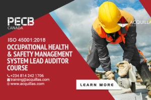 Pecb Iso 45001 2018 Occupational Health & Safety Management System Lead Auditor Course